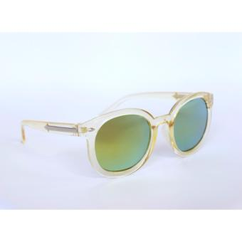 Atlas Apparel Girls Downtown Series Round Sunglasses (Light Yellow) Price Philippines