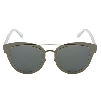 Summer Shades Flatted Vintage Sunglasses -Protech Women's Eyewear 2206 (Silver) Price Philippines
