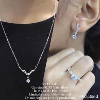 Harga Silver Kingdom PH Tiffany Jewelry Set V6