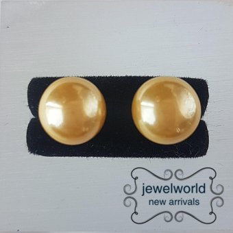 Jewelworld Pearl Bangkok Plated Earrings (silver) Price Philippines