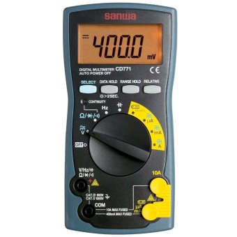Sanwa Digital Multimeter CD771, 10A AC-DC, 1000V AC-DC Price Philippines