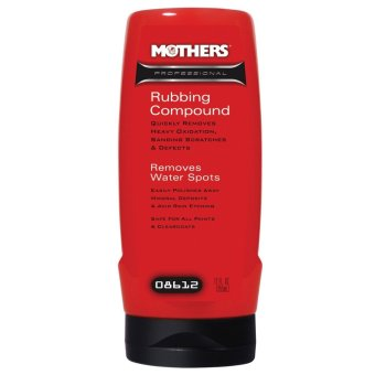 Mothers Professional 08612 Rubbing Compound 355mL Price Philippines