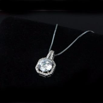 Harga PH-STORE Elegant Gift Women's Diamond Necklace