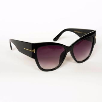 Atlas Apparel Tokyo Womens Oversize Cat Eye Sunglasses (Black) Price Philippines