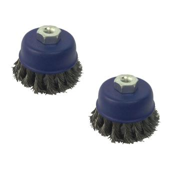 "Meisons cup brush twisted 3"" (10 x 1.25) 2pcs Price Philippines"