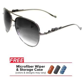 32sunny Jasmine Gunmetal/Grey Aviator Sunglasses Price Philippines