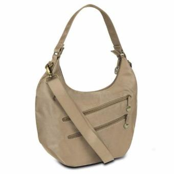 Travelon Hack-Proof Convertible Hobo with RFID Protection - Champagne Price Philippines