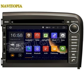 Harga NAVITOPIA 2016 Top Radio 1024*600 Quad Core 16G 7 Inch Pure Android 5.1.1 Car GPS Navigation for Volvo S80 1998-2006 NEW DVD - intl