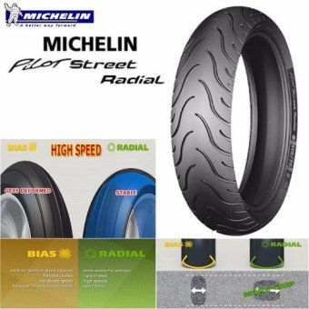 Harga MICHELIN PILOT STREET RADIAL 160/60 R17 69H MOTORCYCLE TIRE