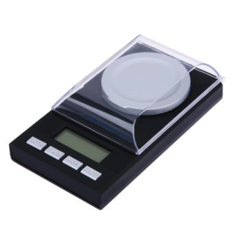 Harga 50g/0.001g Jewelry LCD Digital Scale Lab Weight Milligram Scale Medicinal - intl