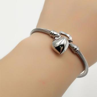 Fantasy Whole Heart Dangling Stainless Bangles AC1008 Price Philippines