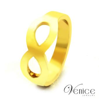 Harga Venice Infinity Gold Plated Ring