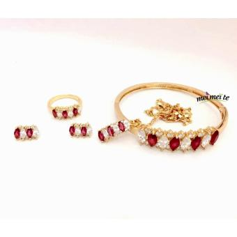 MEI MEI Req Style Ruby 14k Bangkok Jewelry Set Price Philippines