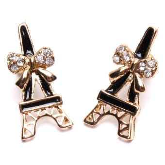 Jewelworld Paris Chic Bangkok Plated Earrings (gold) Price Philippines