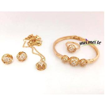 MEI MEI Crystal Round 14k Bangkok Jewelry Set Price Philippines