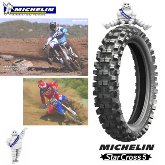 Harga Michelin OFFROAD Motorcycle Tire 110/100 R18 Starcross 5 medium