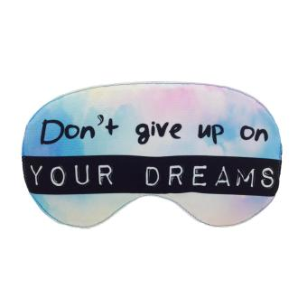 Harga Tickles Don't Give Up On Your Dreams Eye Mask (Purple)