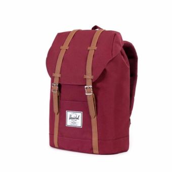 Harga Herschel Supply Co. Retreat Backpack (Wine/Tan)