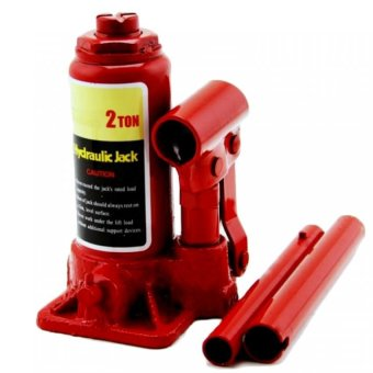 Harga 2 Ton Prostar Hydraulic Jack - Bottle Type ( Red ) item No.: BJ0201