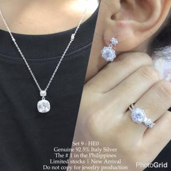 Harga Silver Kingdom PH Tiffany Jewelry Set V3