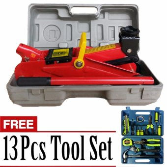 Harga Prostar 2 Ton Floor Jack 300 Max Lift with Free 13 pcs Tool Set