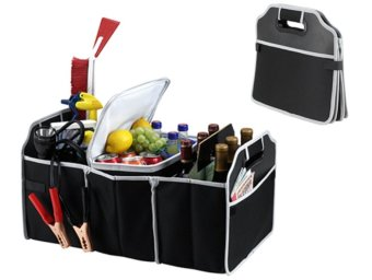 Harga EZ Three-Section Collapsible Trunk Organizer and Cooler