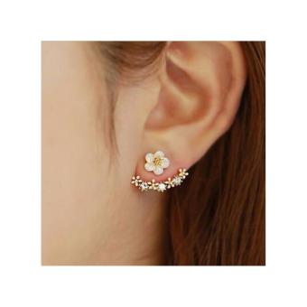 Harga Casey Ear Jacket Earrings in Rose Gold Tone