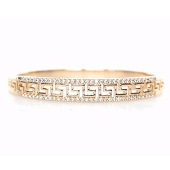 Harga Athena & Co. 18K Gold Plated Versace Inspired Taylor Bangle