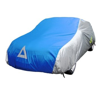 Deflector DCCB-S3-SB Car Cover for Sedan (Silver/Blue) Price Philippines