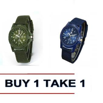Harga Gemius Army Military Sports Style Army Buy 1 Green Take 1 Blue