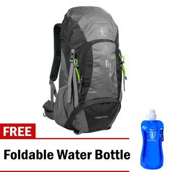 Harga Rhinox 002 Mountaineering Bag (Light Gray/Charcoal) with Free Foldable Water Bottle