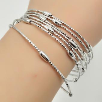 Fantasy Stainless 7days Bangles AC1006 (silver) Price Philippines