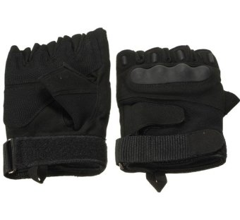 Outdoor Half Finger Gloves Motorcycle Riding Knuckle Price Philippines