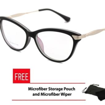 Cats Eye Style Replaceable Computer Eyeglasses Unisex_E175_Gray Price Philippines
