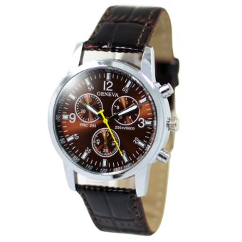 Geneva Jasmine Brown Leather Strap Watch B2GLW173 Price Philippines