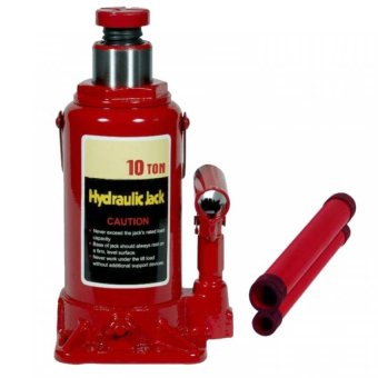 Harga Prostar 10 Ton Hydraulic Jack - Bottle Type ( Red ) item No.: BJ1001