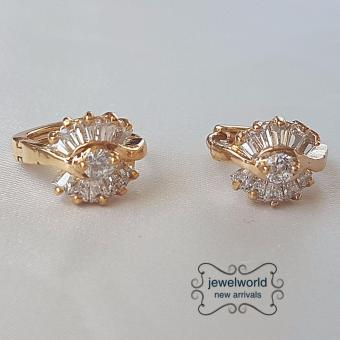 Jewelworld Bangkok 18k Plated Cubic Zircon Earrings (gold) Price Philippines