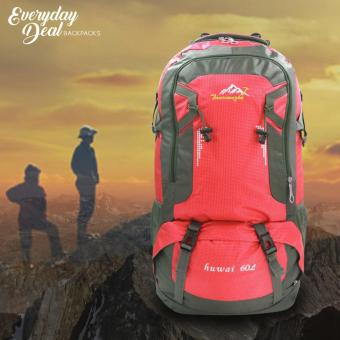 Sport Outdoor Andrew Rucksaks Climbing Knapsack Bag 60L (Red) Price Philippines