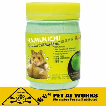 Harga Hamukichi Hamster Bathing Sand (400g) Green Apple for Pets and Hamster Bath Soap San
