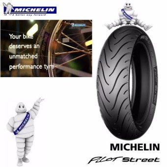 Harga Michelin Motorcycle Tire 80/80 R14 43P Pilot Street TL RF