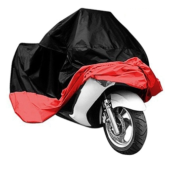 Harga Motorcycle Cover Shelter From Rain Dust UV Rays Scooter Waterproof L