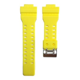 Harga G Shock Replacement Yellow Matte Rubber Strap