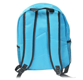 Back Pack School Bag Plain (Blue) Price Philippines