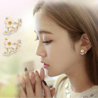 Harga Casey Ear Jacket Earrings in Gold Tone