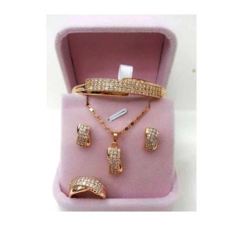 Harga Triple Infinity Jewelry Set