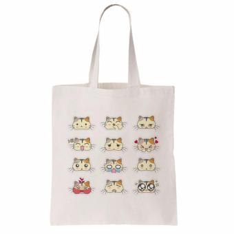 Eco-friendly Canvass Shopping Bag Cats Price Philippines
