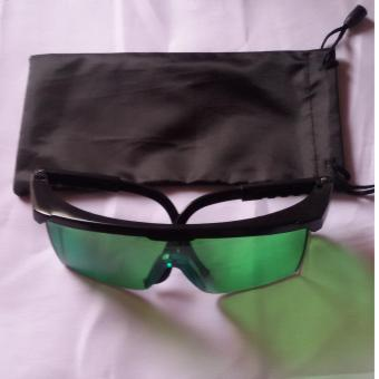Harga Eye Sun Glasses/ GoggleS with Eye Protection and Sun Rays Protection color Green with pouch