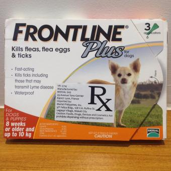 Harga Frontline Plus for Dogs 8 weeks to 10 kg