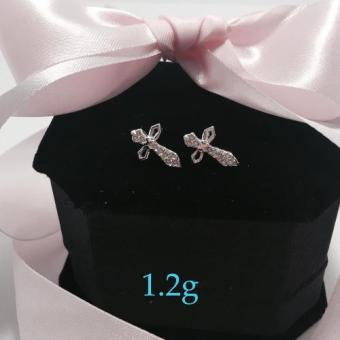 Harga Silver Kingdom PH Embellished Cross Earrings