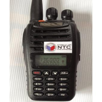 Cignus v85 dualband twoway portable radio 2years warranty (Black) Price Philippines